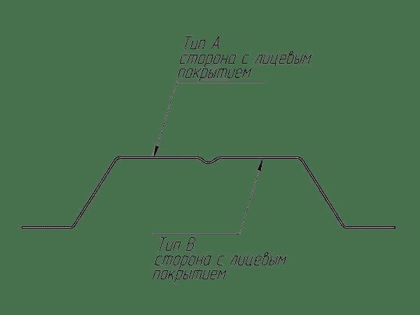 штакетник п-образный