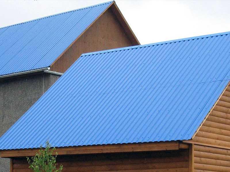 Крыша из профнастила GL-10