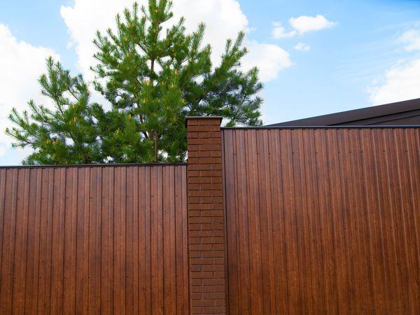 Забор из профнастила С-10